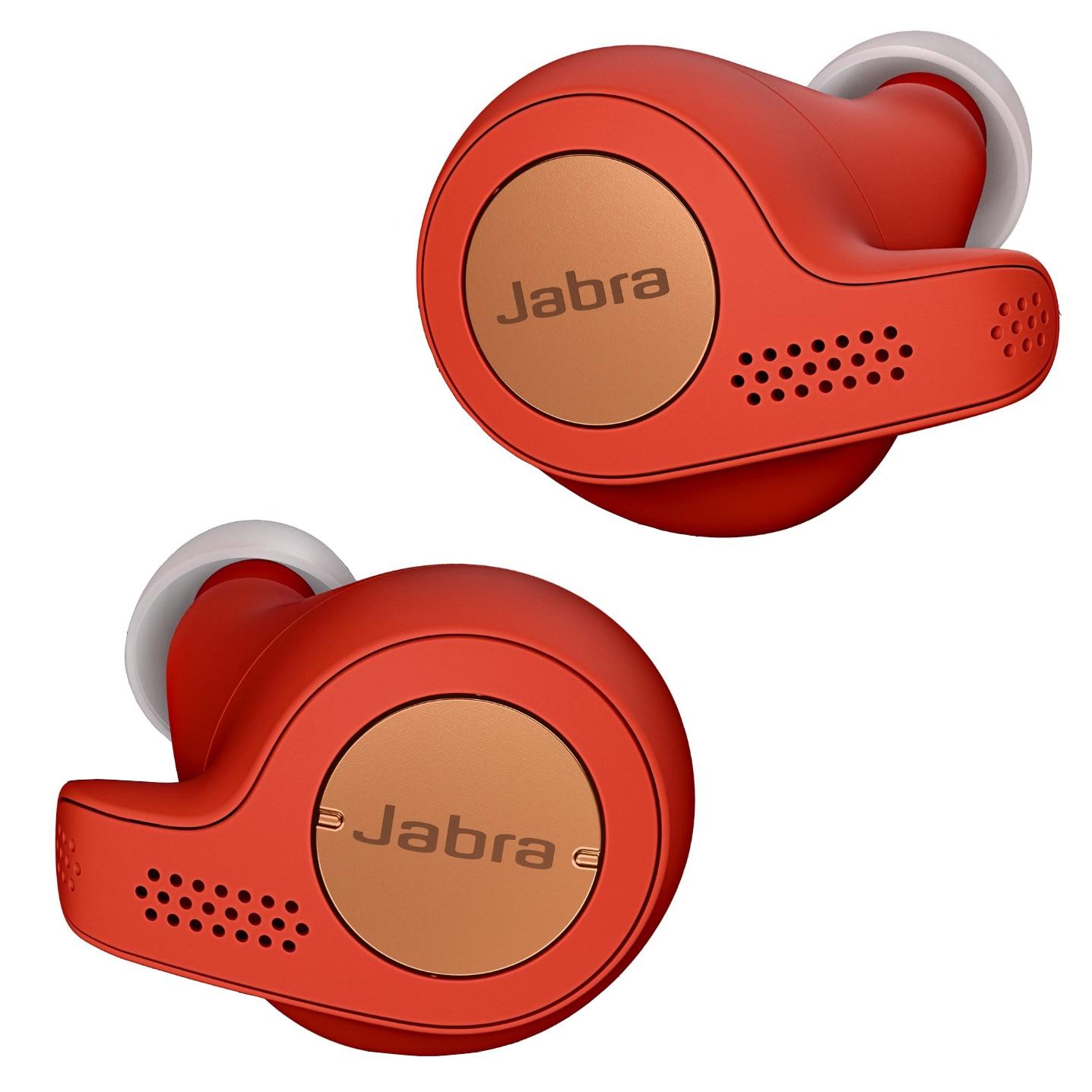 Fotografie Casti bluetooth Jabra Elite Active 65t, In-Ear, Red