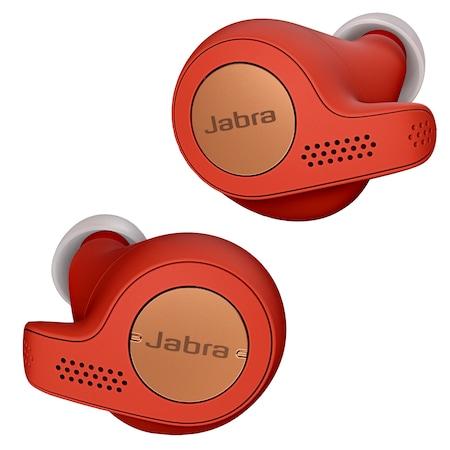 Слушалки in-ear Jabra Elite Active 65t, Bluetooth, Red