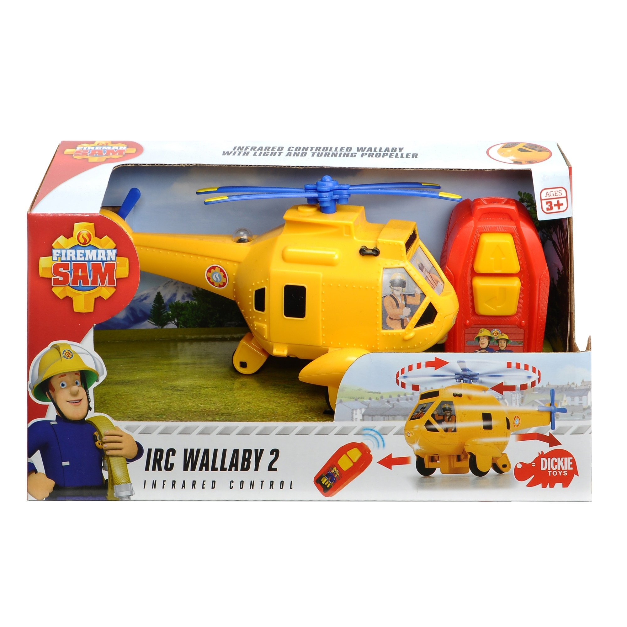 Fotografie Elicopter RC Dickie Toys Fireman Sam, Wallaby 2