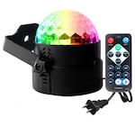 Диско LED лампа с дистанционно- ОЕМ, Черна