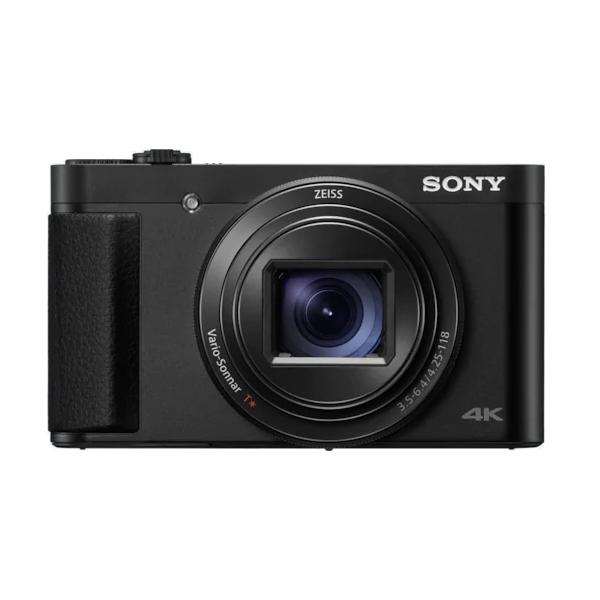 Fotografie Aparat foto digital compact Sony Cyber-Shot DSC-HX99, 18MP, 4K, High zoom 30x cu stabilizare optica, Eye AF, Ecran tactil, Wi-Fi, NFC, Negru