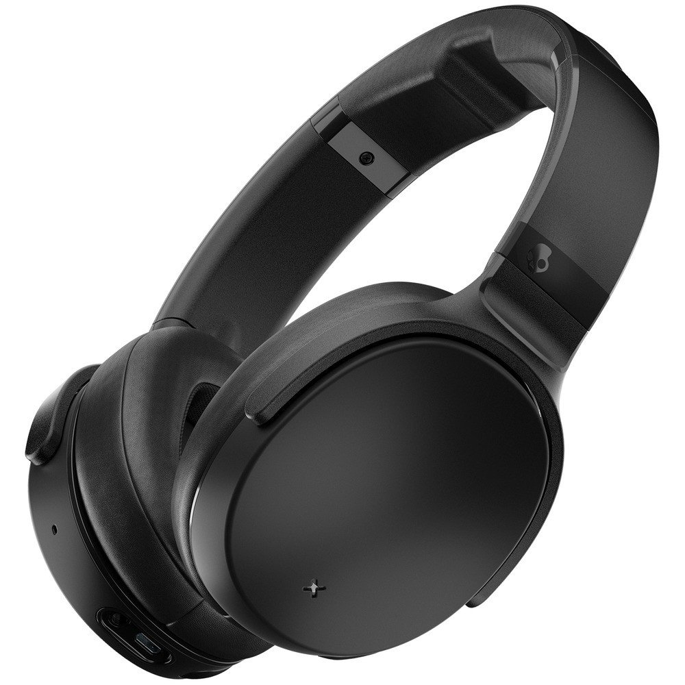 Fotografie Casti Audio Over the Ear Skullcandy Venue, Wireless, Bluetooth, Noise cancelling, Microfon, Autonomie 24 ore, Black