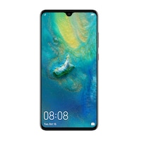 Huawei Mate 20 Mobiltelefon, Kártyafüggetlen, Dual SIM, 128GB, LTE, Éjfekete