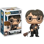 Фигурка Funko Pop Movies Harry Potter Harry w/ Firebolt & Feather