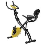 Bicicleta fitness pliabila TECHFIT XB300, Magnetica, Greutate utilizator 120 kg, Computer antrenament, 5 functii afisate, 8 trepte de intensitate