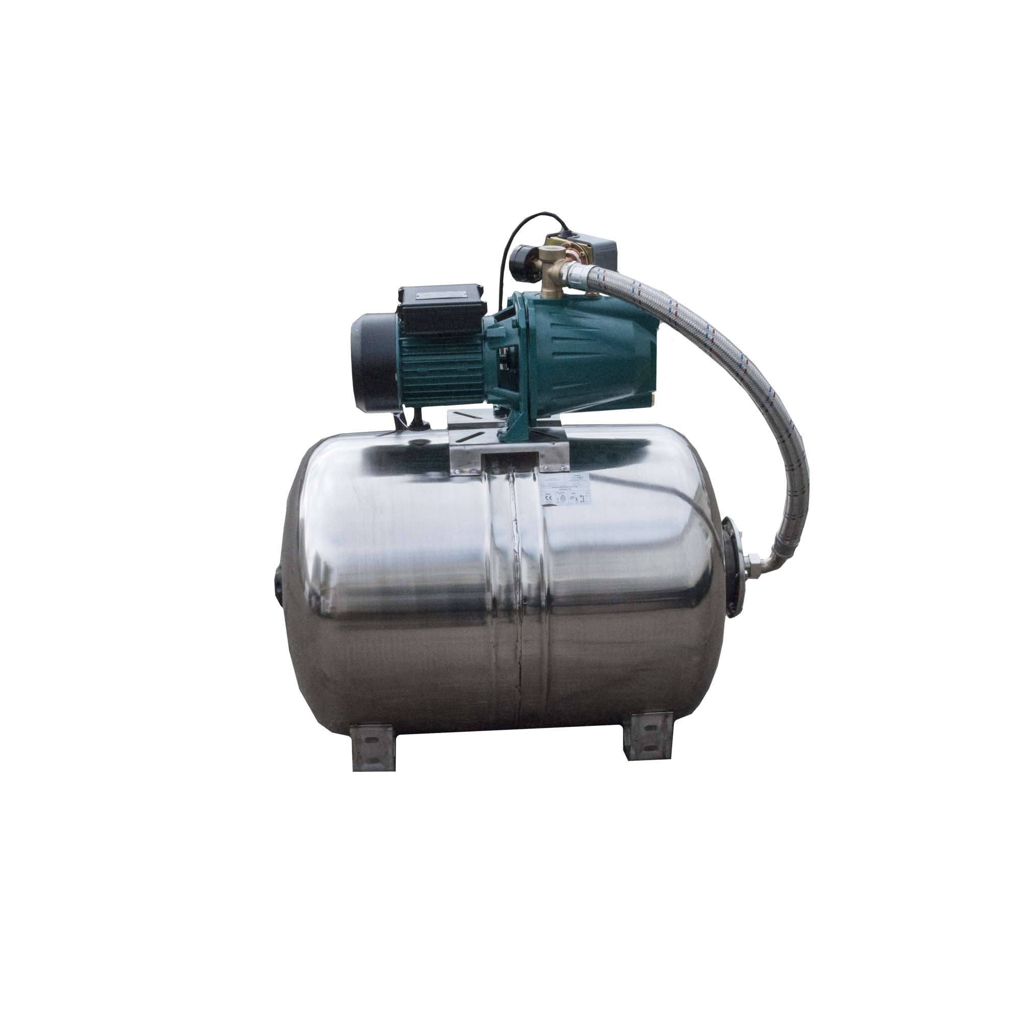 "Fotografie Hidrofor apa curata APC 3020121/100I, 1500 W, 220 V, 100 l capacitate vas expansiune, 1"" diametru racord, 75 l/min debit maxim, 52 m inaltime refulare, 9 m adancime absorbtie"