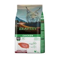 Суха храна за котки Bravery Sterilised, Пилешко, 2 кг