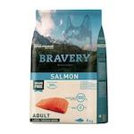 Суха храна за кучета Bravery Medium/Large, Сьомга, 4 кг