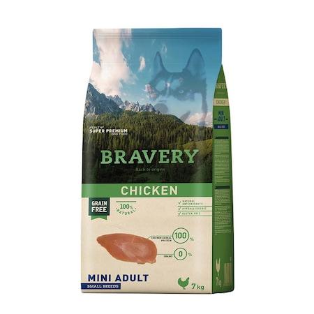 Суха храна за кучета Bravery Mini Small, Пилешко, 7 кг