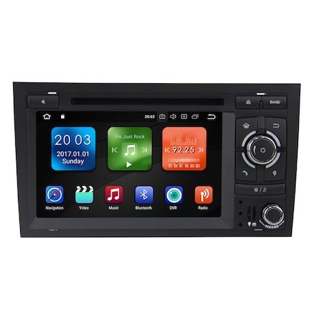 Мултимедия с навигация ZT, за Audi A4, S4, B6, B7 2001-2011, Android, 4+2+16