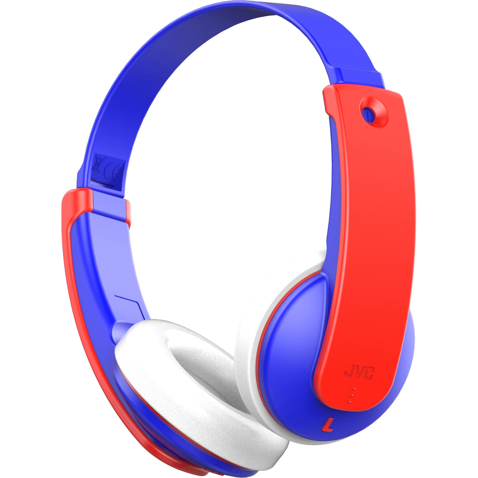 Fotografie Casti over ear JVC HA-KD9BT-AE, KIDS, Bluetooth, Albastru