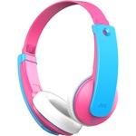 JVC HA-KD9BT-PE over-ear fejhallgató, KIDS, Bluetooth, Rózsaszín