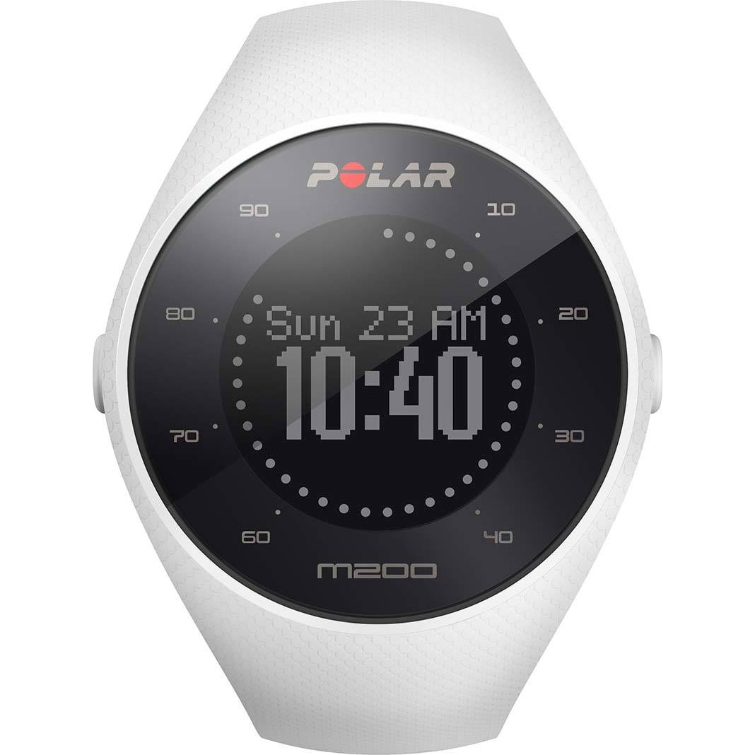 Fotografie Ceas smartwatch Polar M200, HR, Medium/Large, White