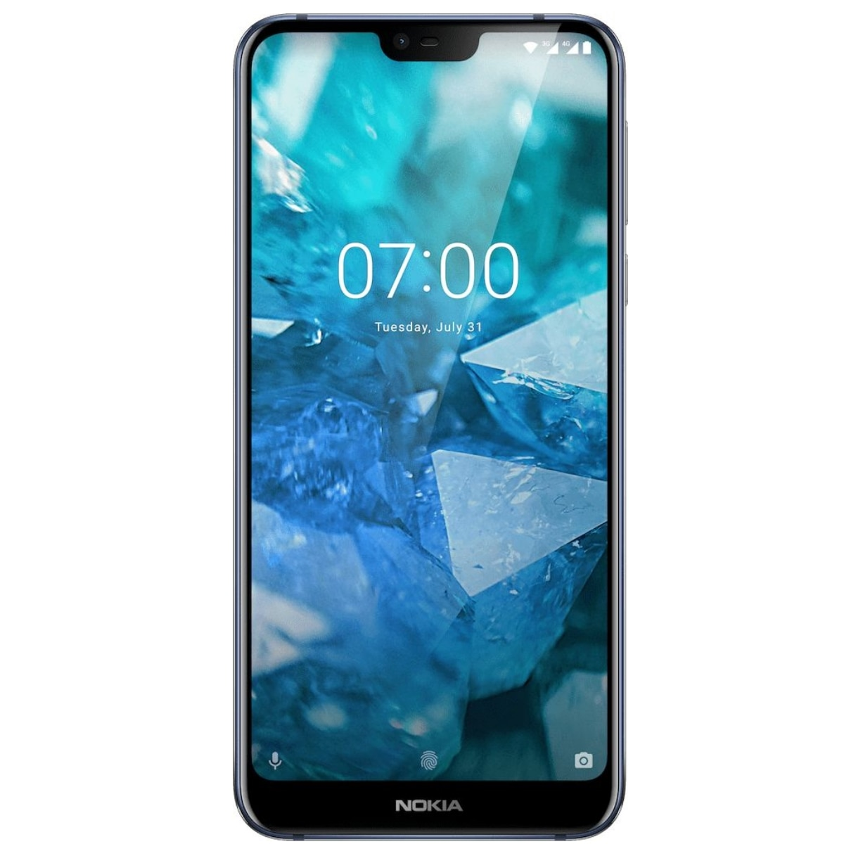 Fotografie Telefon mobil Nokia 7.1, Dual SIM, 64GB, 4G, Gloss Midnight Blue