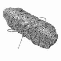 Snur rexor, tesut, argintiu, diametru 1.75 mm, lungime rola 100 ml