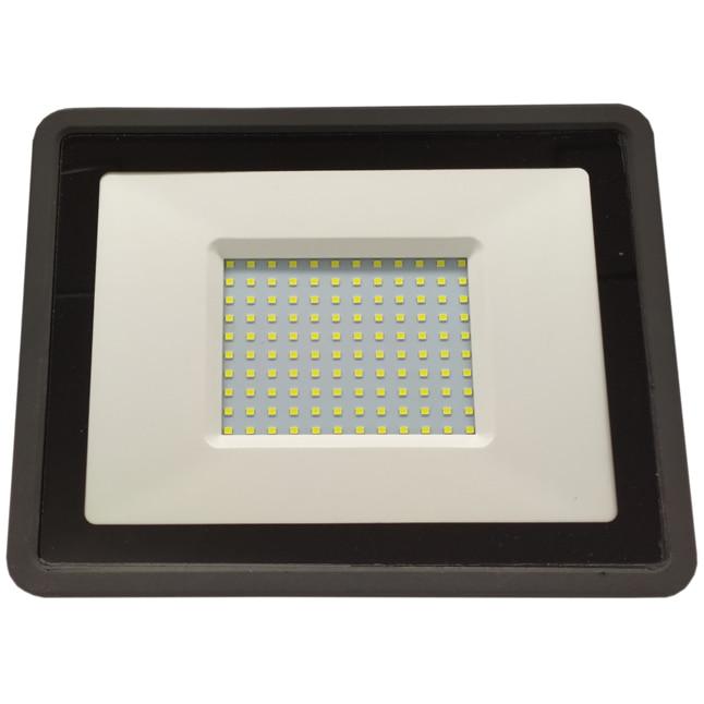 Fotografie Proiector LED slim Ultra Bright, 100W, 8000 lm, 6400K, A++, IP65