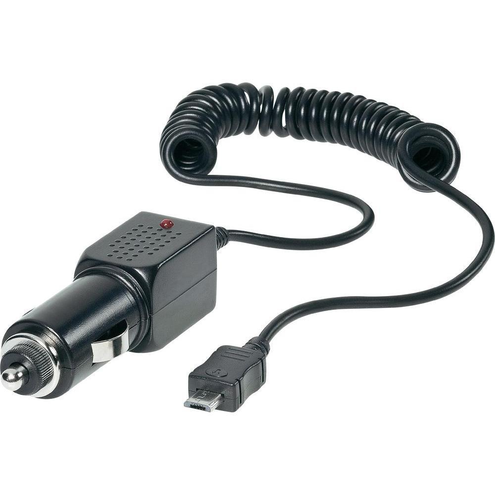 12V24V os szivargyújtó töltő Micro USB csatlakozóval max.1 A