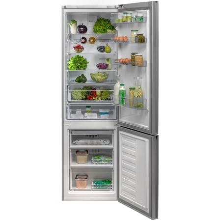 Combina frigorifica Beko RCNA400E20ZGB, 347 l, Clasa A+, NeoFrost, H 201 cm, Sticla neagra