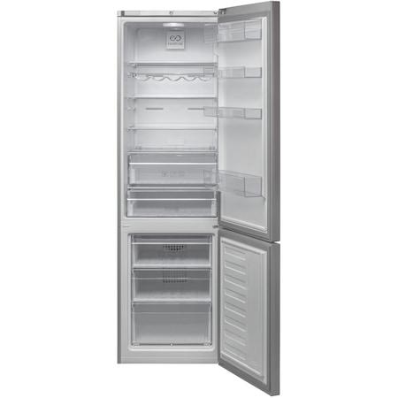 Combina frigorifica Beko RCNA400K20ZX, 347 l, Clasa A+, NeoFrost, H 201, Inox Antiamprenta