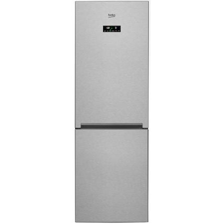 Хладилник с фризер Beko RCNA365E20ZXP, 316 л, Клас A+, NeoFrost, Отделение EverFresh, Йонизираща функция, Височина 185.3 см, Инокс против отпечатъци