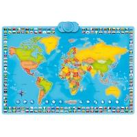 covor harta lumii