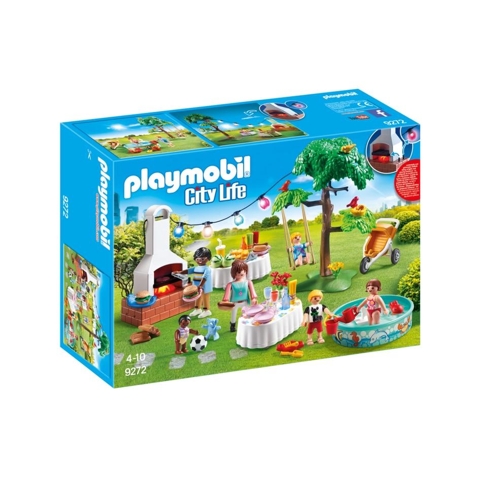 Fotografie Playmobil City Life - Petrecere in gradina