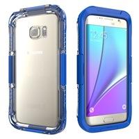 Vízhatlan / vízálló telefontok, AQUA (6 méterig) Sötétkék [Samsung Galaxy S7 EDGE (SM-G935)]