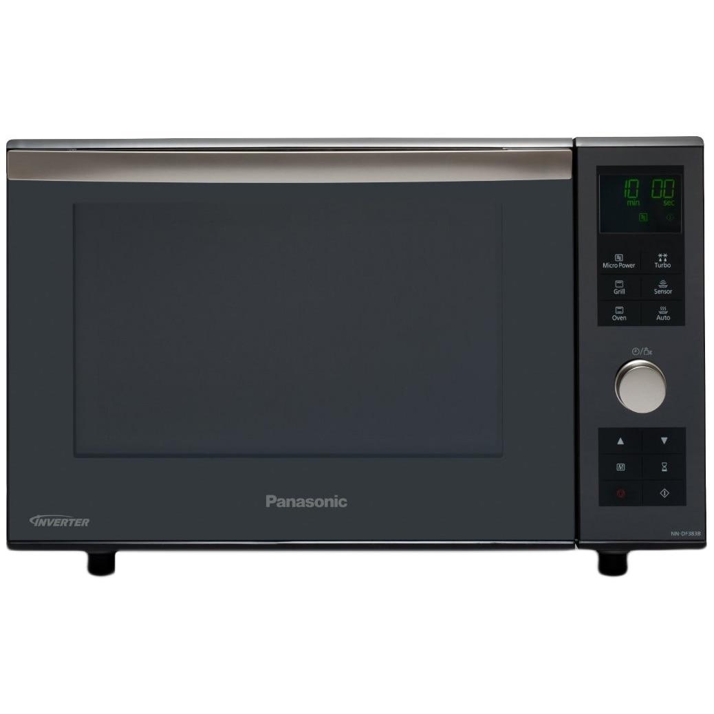Fotografie Cuptor cu microunde Panasonic NN-DF383BEPG, 23 l, 1000 W, Grill, Digital, Inverter, Negru