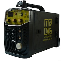 Телоподаващ инверторен комбиниран TIGTAG MIG250XSP Black, За СО2 заваряване 3 метра еврошланг