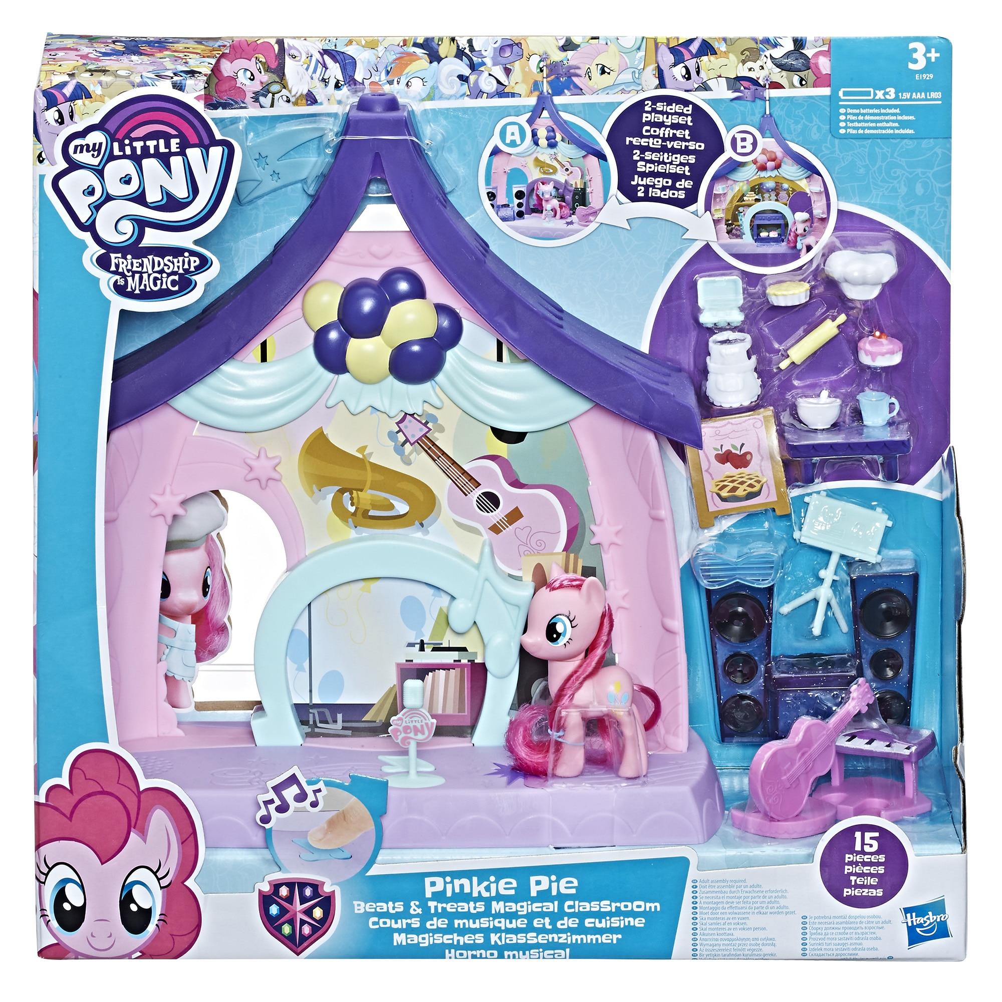 Fotografie Set figurine My Little Pony, Sala de clasa magica a lui Pinkie Pie