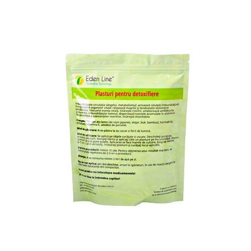 Plasturi pentru detoxifiere eden line Plasturi Detoxifiere Picioare cu Turmalină | EDEN LINE