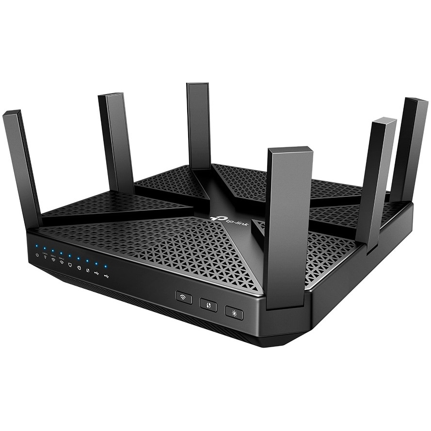 Fotografie Router wireless TP-Link Archer C4000, Wi-Fi Tri-Band, MU-MIMO