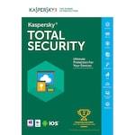 Antivirus Kaspersky Total Security 3 dispozitive, 1 an Licenta Electronica