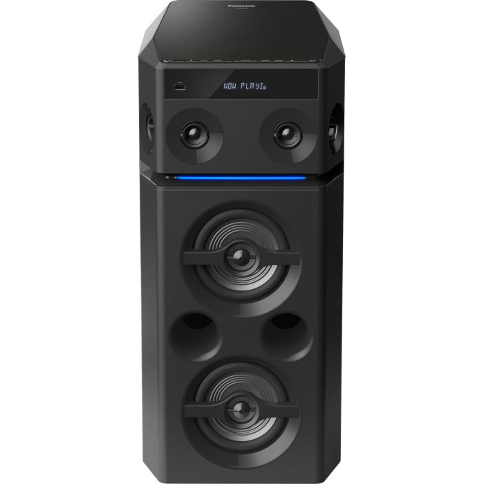 Fotografie Sistem audio Panasonic SC-UA30E-K, 300W RMS, Bluetooth, Negru