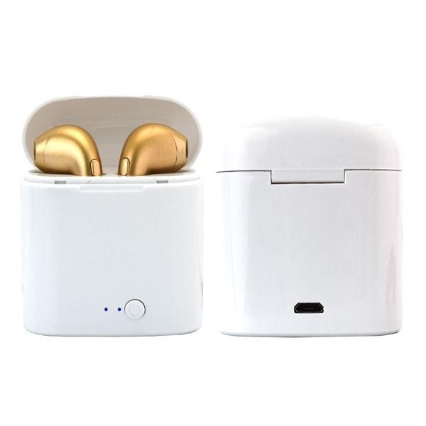I7Stereo vezeték nélküli bluetooth fülhallgató töltőtokkal