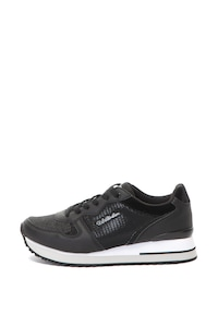 U.S. Polo Assn., Спортни обувки Tuzla от еко кожа и текстил, Черен, 38