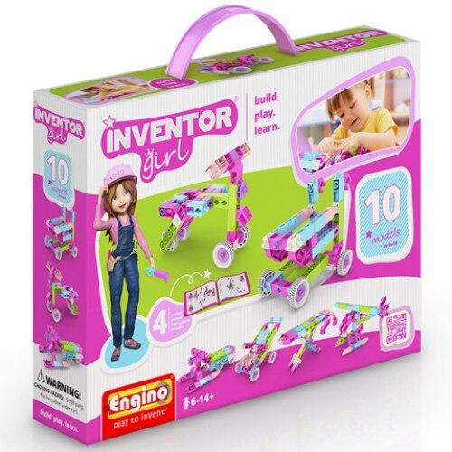 Engino Inventor - Lányos 10 Modell Építőjáték XkT4Bw