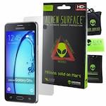 Комплект Защитно Фолио Alien Surface HD, Samsung Galaxy On5 Pro, Защита Заден + Alien Fiber