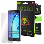 Защитно Фолио Alien Surface HD, Samsung Galaxy On5 Pro, Защита Екран + Alien Fiber