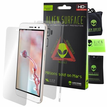 Комплект Защитно Фолио Alien Surface HD, Asus Zenfone 3 ZE552KL, Защита Екран, Заден, Отстрани + Alien Fiber
