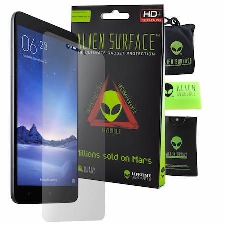 Защитно Фолио Alien Surface HD, Xiaomi Redmi Note 4X, Защита Екран + Alien Fiber