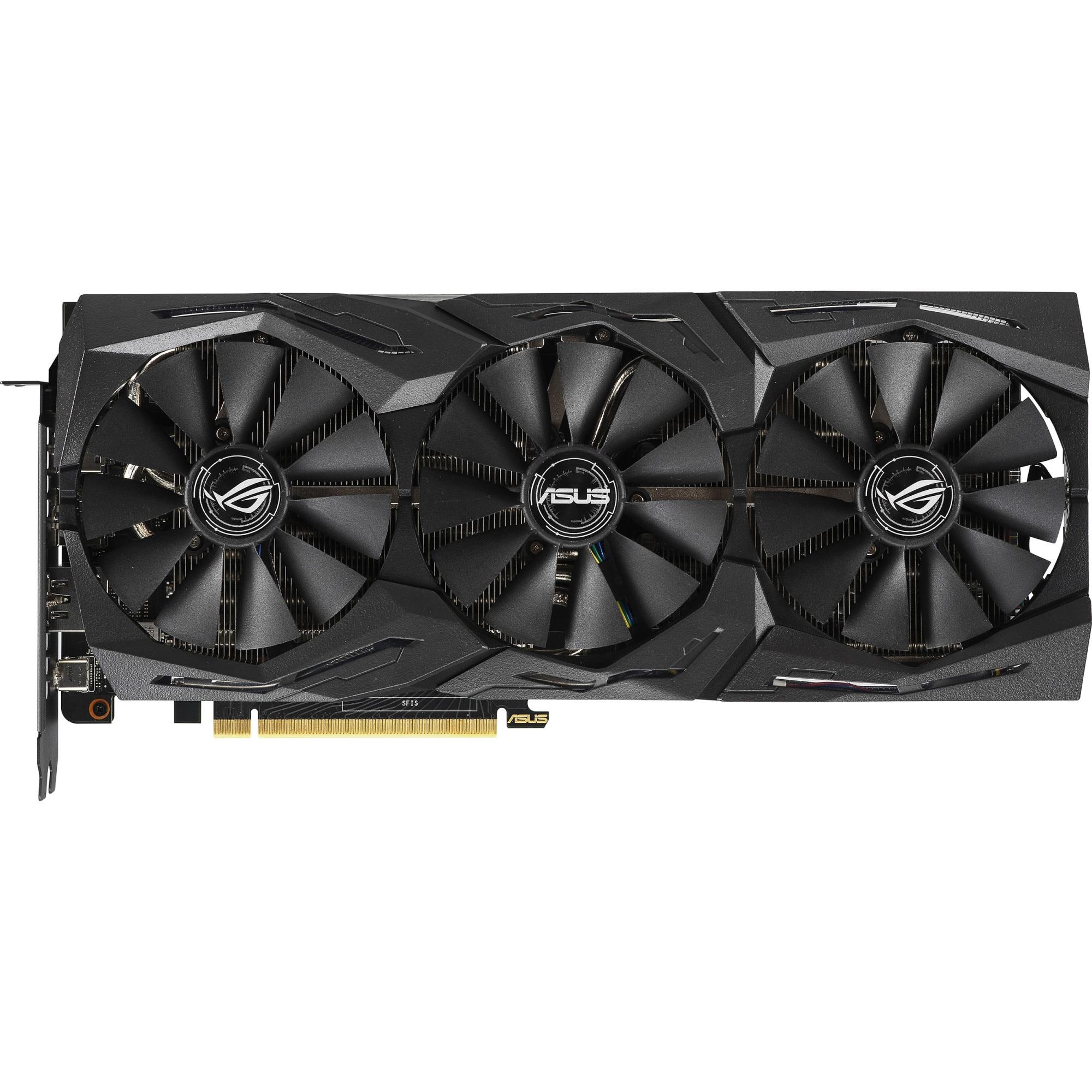 Fotografie Placa video Asus ROG STRIX GeForce® RTX™ 2070 Super Gaming OC, 8GB GDDR6, 256-bit
