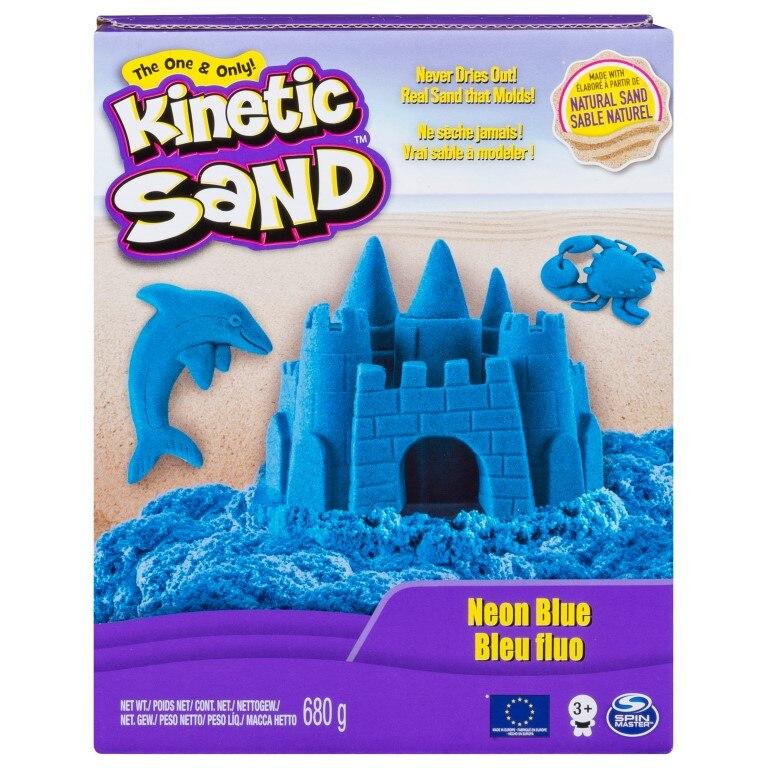 Fotografie Set Kinetic Sand - Neon, albastru, 680g