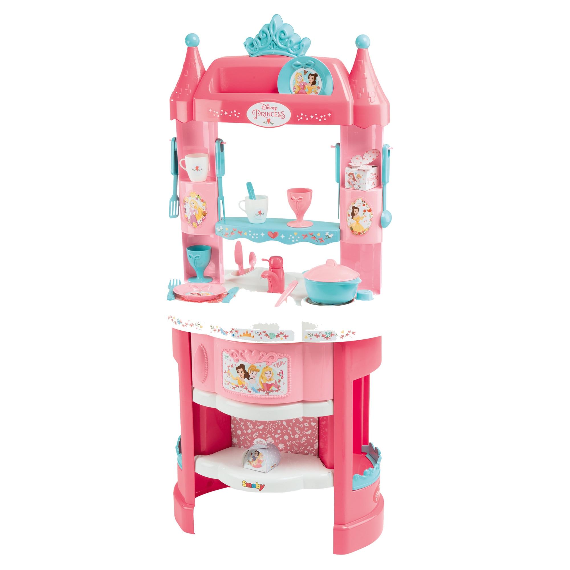 Fotografie Bucatarie copii Smoby, Disney Princess cu accesorii