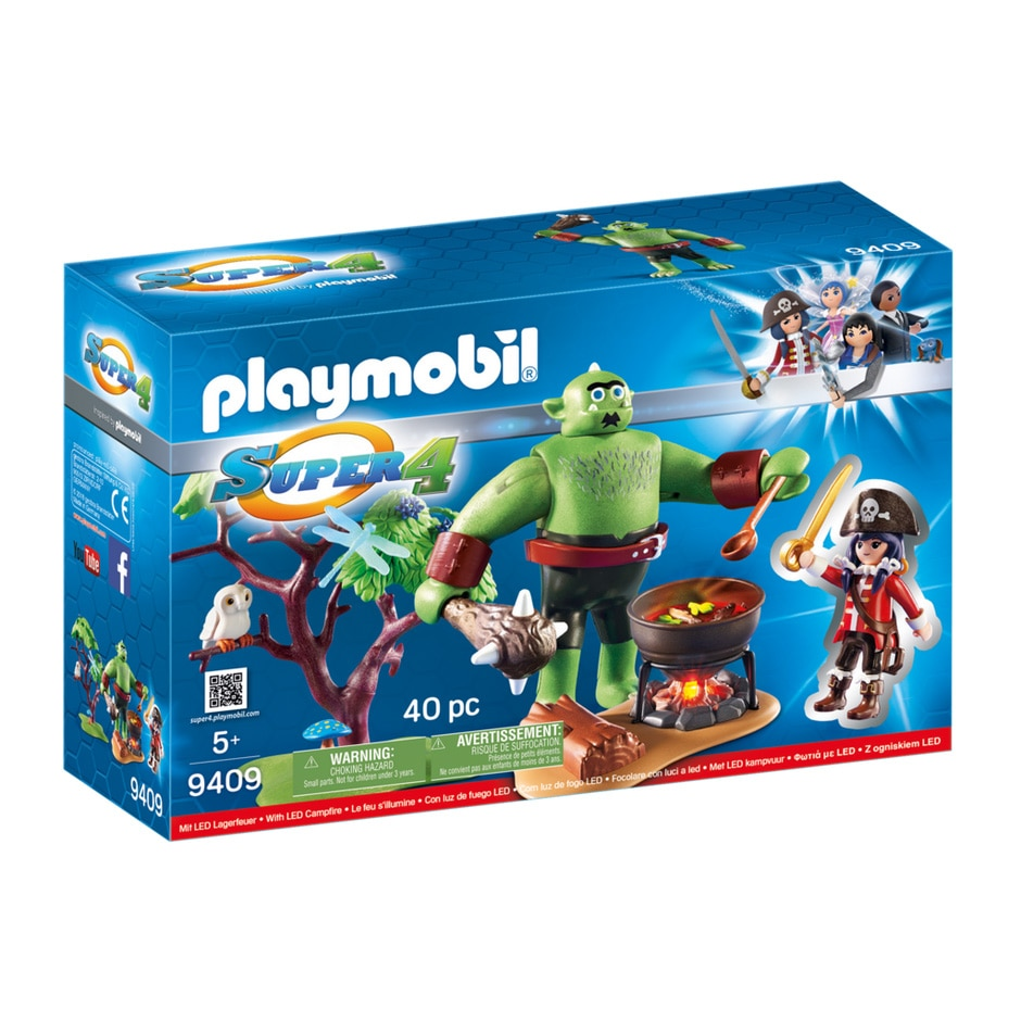 Fotografie Playmobil Super 4 - Ruby si Trol