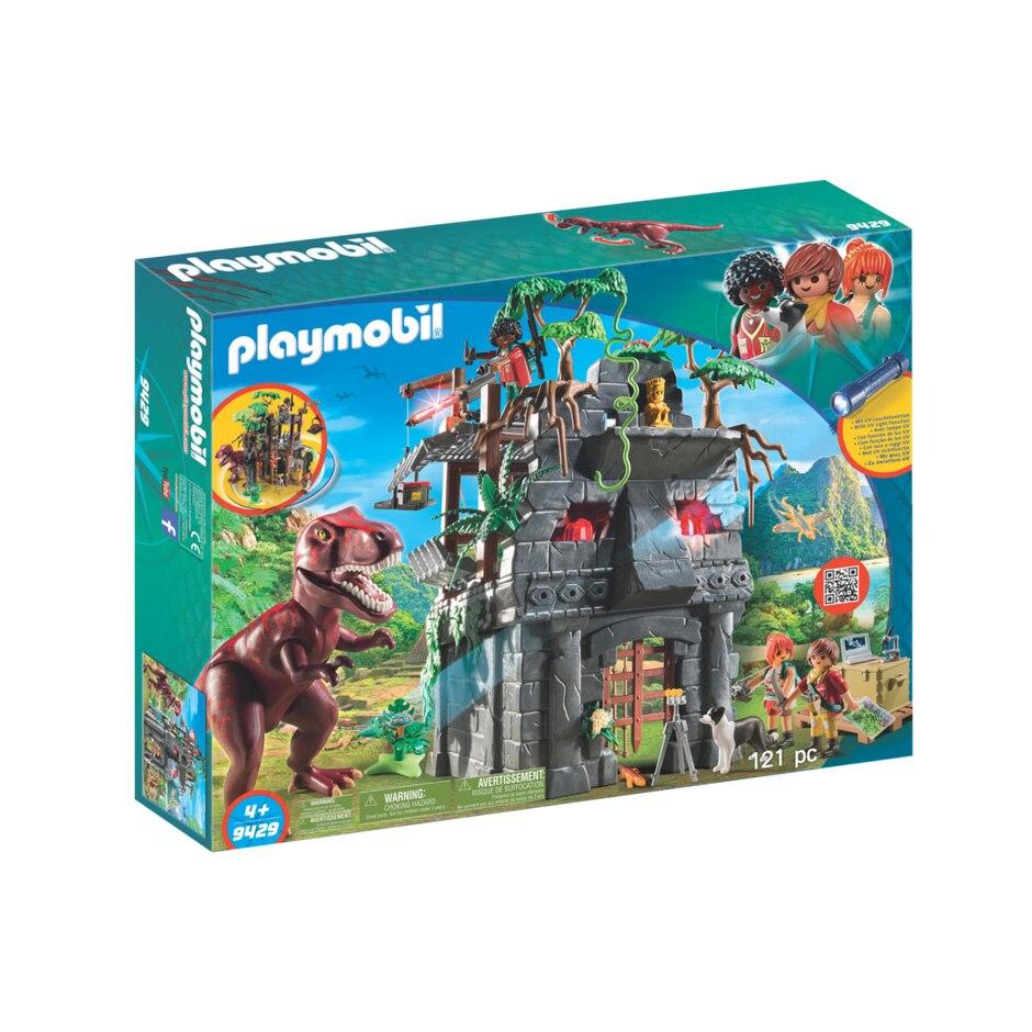 Fotografie Playmobil Dinos - Templul ascuns si T-rex