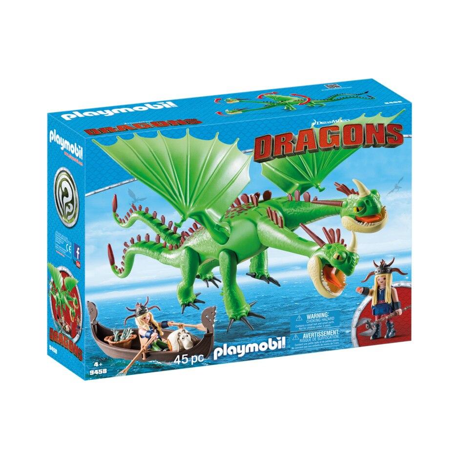 Fotografie Playmobil Dragons - Gemeni cu Barf si Belch