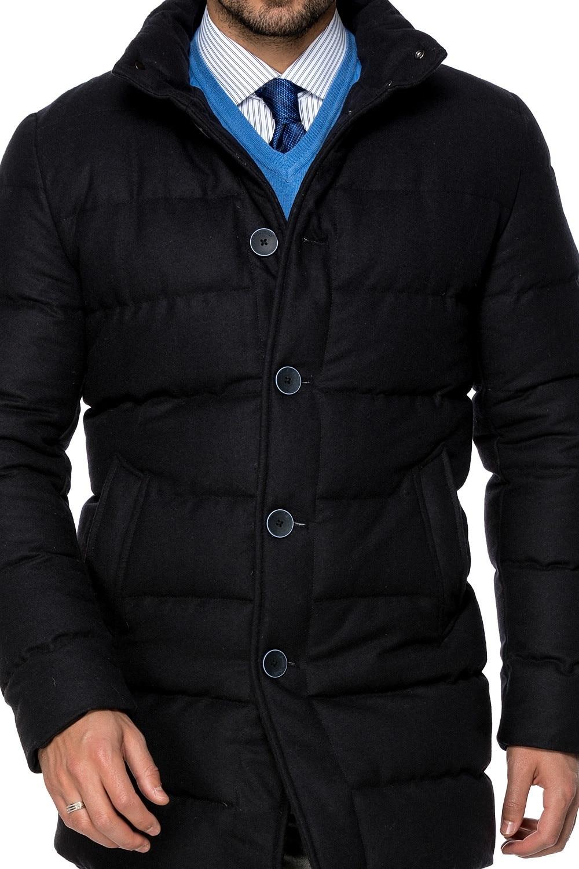 Antonio Gatti Férfi kék Libatoll kabát 52 G027 Bs XXL