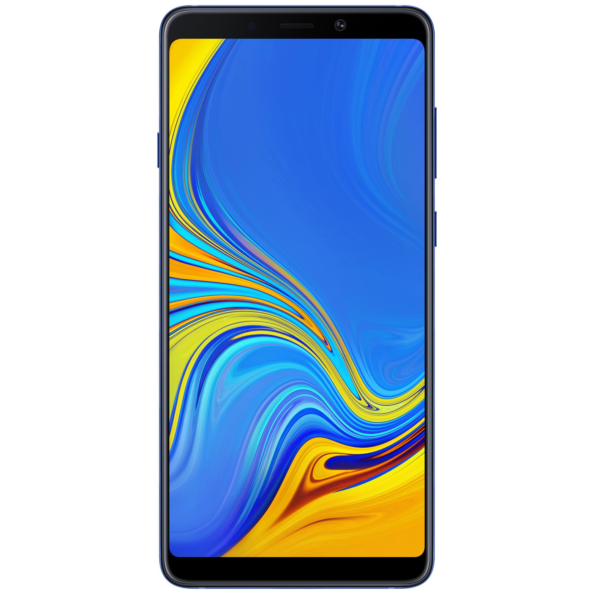 Fotografie Telefon mobil Samsung Galaxy A9 (2018), Dual SIM, 128GB, 6GB RAM, 4G, Blue