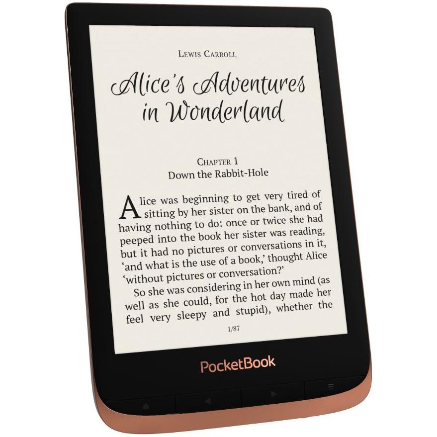"Fotografie eBook Reader PocketBook Touch HD3, 6"", 16GB, rezistent la apa, WiFi, Bluetooth, Spicy Copper"